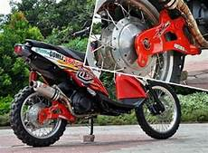 Matic Modif Trail by Modifikasi Trail Motor Yamaha Matic X Ride Terbaru 2016