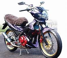 Modifikasi Satria F by Foto Modifikasi Suzuki Satria F150 Hyper Underbone