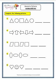 worksheets on shapes and patterns for grade 5 517 grade 3 maths worksheets 14 9 geometry geometric patterns in shapes numbers lets