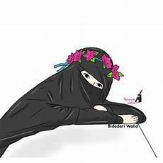 Gambar Kartun Muslimah Bercadar Galeri Foto Dan