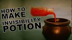 build a lifier how to make an invisibility potion