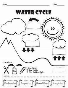 water cycle matching by cheeky cherubs teachers pay