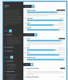 41 html5 resume templates free sles exles format download free premium templates