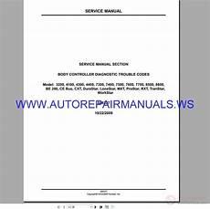 international navistar s08327 control diagnostic trouble codes service manual 2009 auto