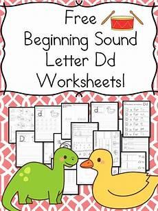 letter d beginning sound worksheets 24195 18 free letter d beginning sound worksheets with easy kindergarten phonics worksheets