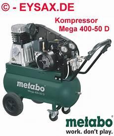 metabo druckluft kompressor mega 400 50 d drehstrom 400v