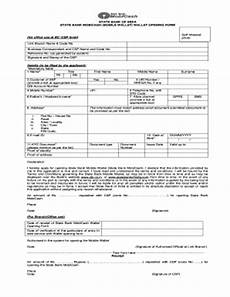 sbi account opening form pdf fill online printable fillable blank pdffiller
