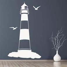 lighthouse wall sticker beach nautical wall decal bathroom