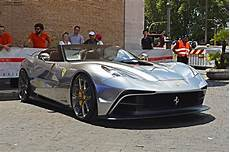 Silver Chrome F12 Trs Snapped In Rome Gtspirit