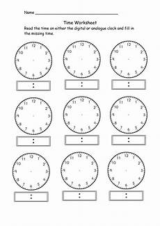 digital time worksheets grade 5 3305 free blank analog clock free clip free clip on clipart library