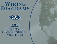 free auto repair manuals 2005 mercury montego navigation system 2005 ford freestyle five hundred mercury montego wiring diagrams schematics ebay