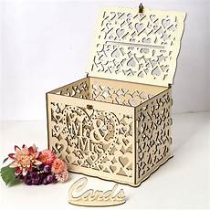 uk wedding card post wooden box collection gift card boxes