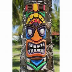 Mosaic Tiki Mask Tiki Mask 50cm The Gorgeous Vibrant