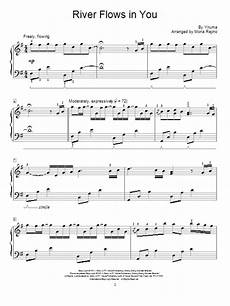 river flows in you sheet music mona rejino educational piano