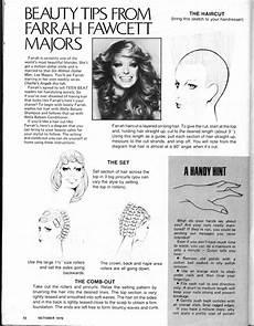 Farrah Haircut Instructions And Diagram   how to get a farrah fawcett haircut everything vintage pinterest farrah fawcett beauty