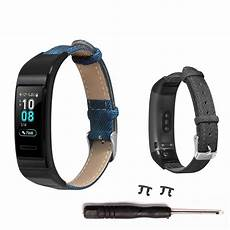 Bakeey Denim Leather Band Huawei by Alarm Systems Bakeey Denim Leather Band For Huawei