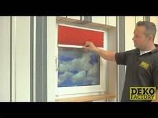 Plissee Mit Klemmtr 228 Gern Auf Den Fensterrahmen Montieren