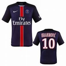 nike psg zlatan ibrahimovic 10 soccer jersey home 2015
