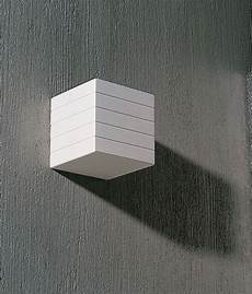 the cube plaster wall light