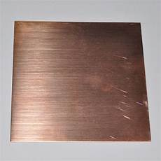 copper sheet 20 g bare solid copper sheet metal 20 6 by