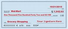 how to write a check an exle with six easy steps