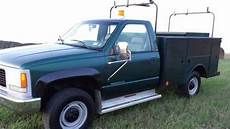 auto repair manual online 1996 chevrolet 3500 parking system purchase used 1999 gmc c 3500 dually service utility truck with 2500 crane in powder springs