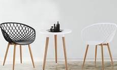 lot de chaises scandinaves floro groupon shopping