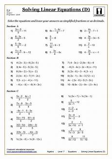 worksheets for year 7 18593 ks3 ks4 maths worksheets printable with answers year 7 math pdf al 5 uk algebra fractions angles