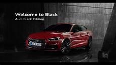 audi black edition 2017 audi a5 sportback black edition