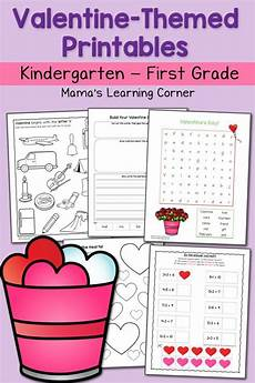 free s day worksheets for kindergarten 20457 free s themed k 1 printables pack grade worksheets valentines day activities