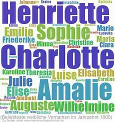 Alte Deutsche Vornamen - top 10 der namen das 19 jahrhundert namen mit geschichte