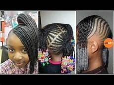 lil braiding hairstyles little black natural