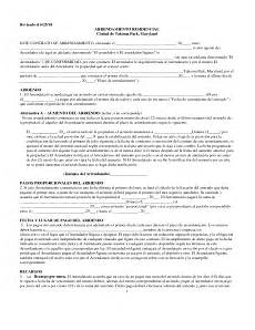 ejemplo de contrato de alquiler contratos de alquiler pinterest