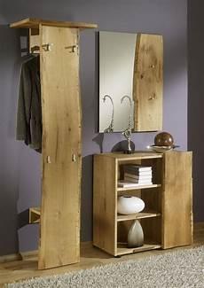 garderobe eiche massiv exklusive 3 tlg garderobe landhausstil garderobenset eiche ge 246 lt aw wildtree s l kaufen bei eh