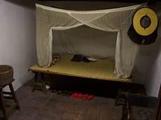Alte Betten Neu Gestalten - an fashioned bed part of a restored dwelling