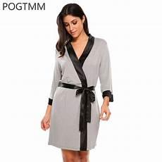 summer dressing gown 3 4 sleeve kimono