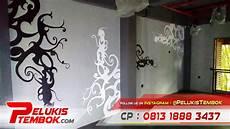 Gambar Grafiti 3d Hitam Putih Simple Dan Keren Igo Mural