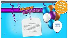 birthday card template for employee custom ecards for businesses corporate office and
