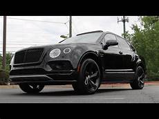 bentley bentayga edition 2018 bentley bentayga black edition