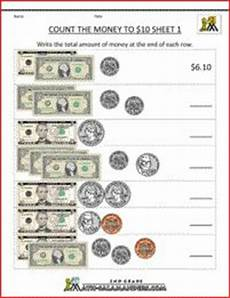 money worksheets change from 5 2100 grade 2 counting money worksheet on counting the 4 coins plus 1 and 5 bills money worksheets