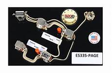 gibson es 335 wiring harness switchcraft bournes acme orange reverb