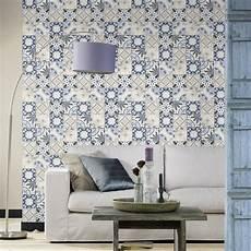 Rasch Bathroom Wallpaper by Rasch Moroccan Baroque Tile Pattern Wallpaper Realistic