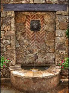 outdoor wall mediterranean outdoor fountains falling lights and ls
