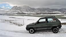 Fiat Panda 4x4 Sisley Show Car