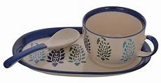 aion buti blue 3 pc soup dining serving kitchen dining home d 233 cor world art community