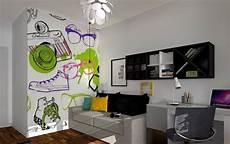 25 Ideen F 252 R Trendige Wandgestaltung Im Jugendzimmer