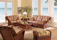 Wicker Living Room Sets