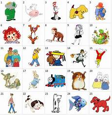 popular children s book characters list can you name the popular children s book characters shown below cute idea for a contest
