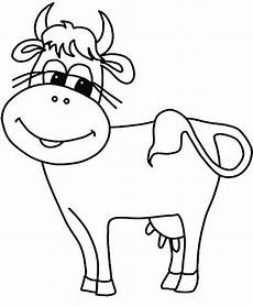 free cow coloring pages printable farm animal coloring