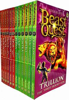 beast quest series 1 2 colletcion 12 books pack set by